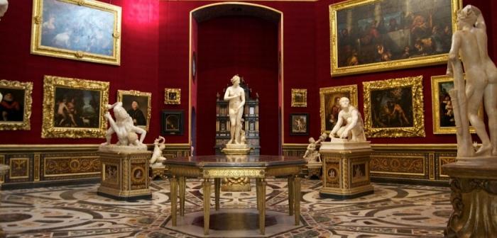 interno uffizi | musei Firenze