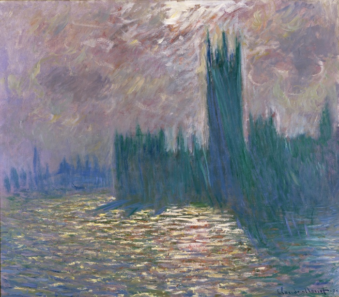 Claude Monet | Le Parlement