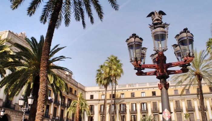 Barcellona | Placa Reial