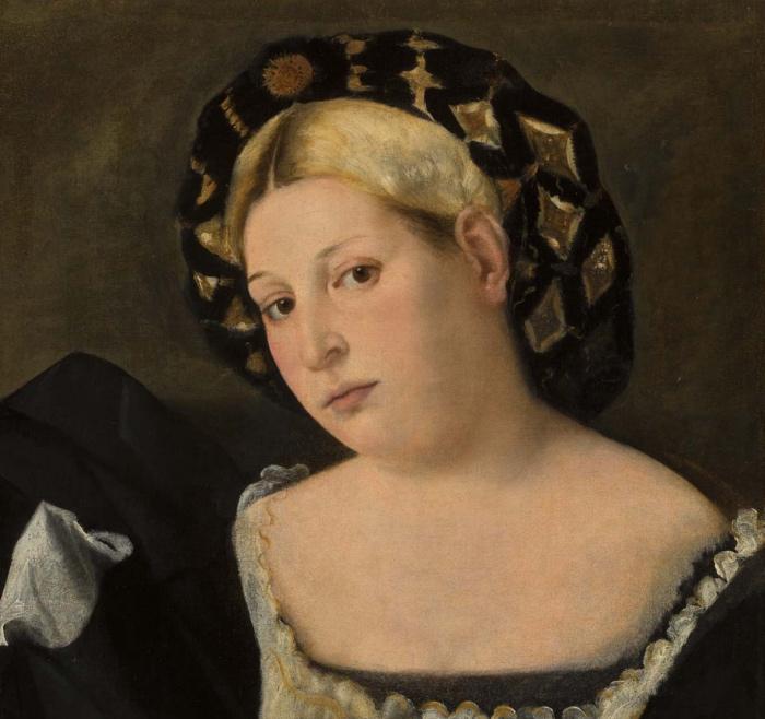 Bernardo Licinio | Ritratto di donna