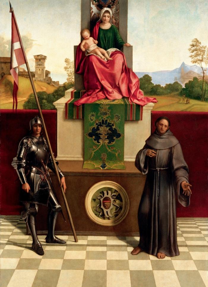 Giorgione | Pala di Castelfranco