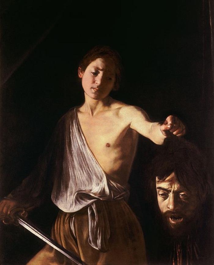 David con la testa di Golia | Caravaggio