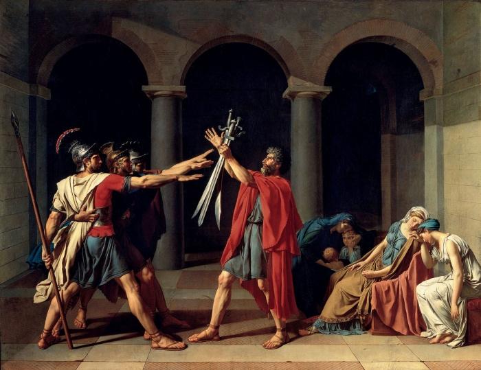 Jacques-Louis David| ll giuramento degli Orazi