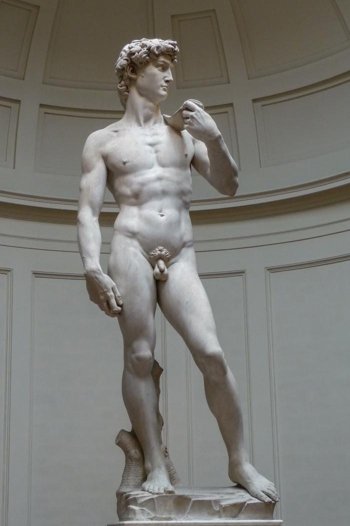 Michelangelo | David | galleria Accademia