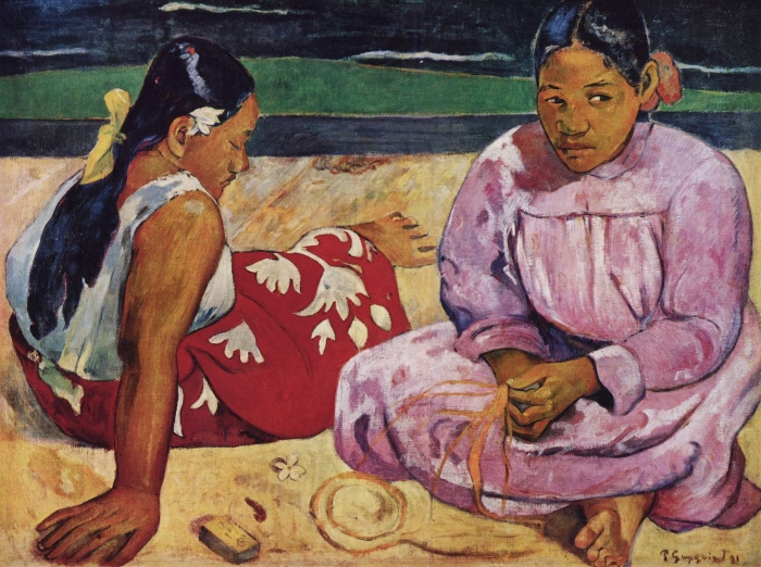 Paul Gauguin | donne tahitiane