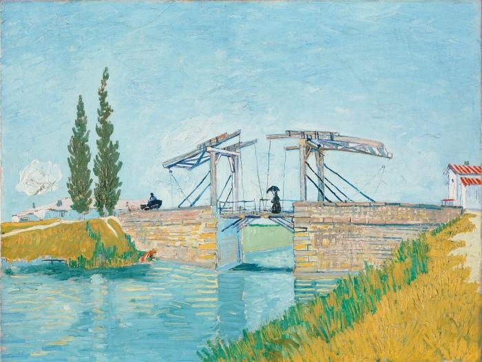 Vincent van Gogh | Il ponte di Langlois a Arles