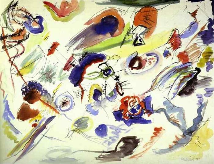 Kandinskij , |  acquerello astratto