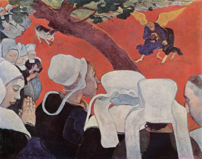 Paul Gauguin | Visione dopo il sermone