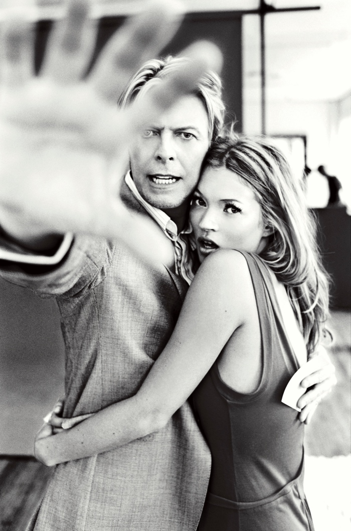 david bowie | kate moss