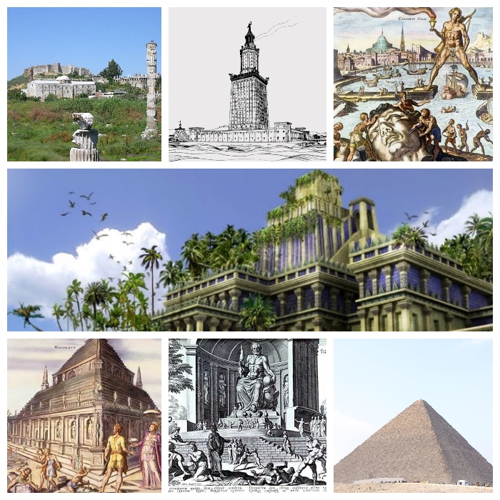 7 Wonders Of The World What They Are And Where