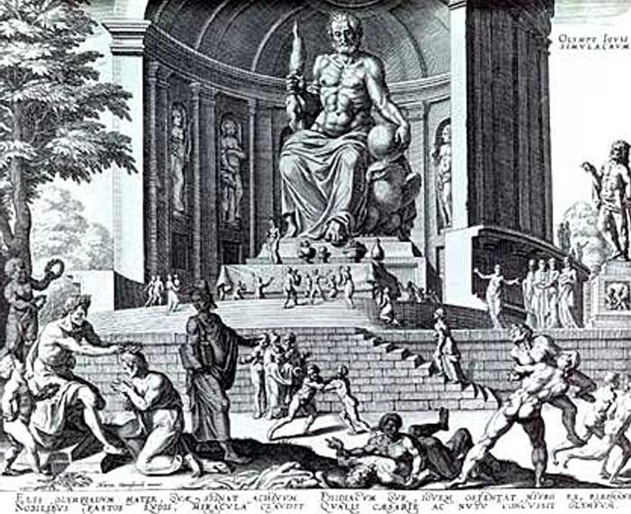 Fidia   statua zeus