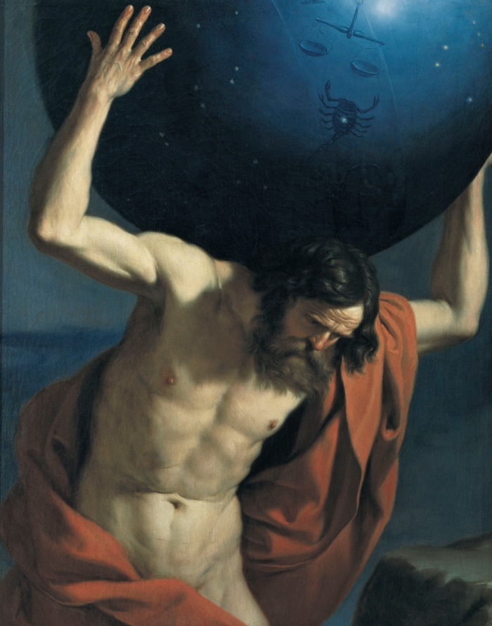 Guercino   Atlante