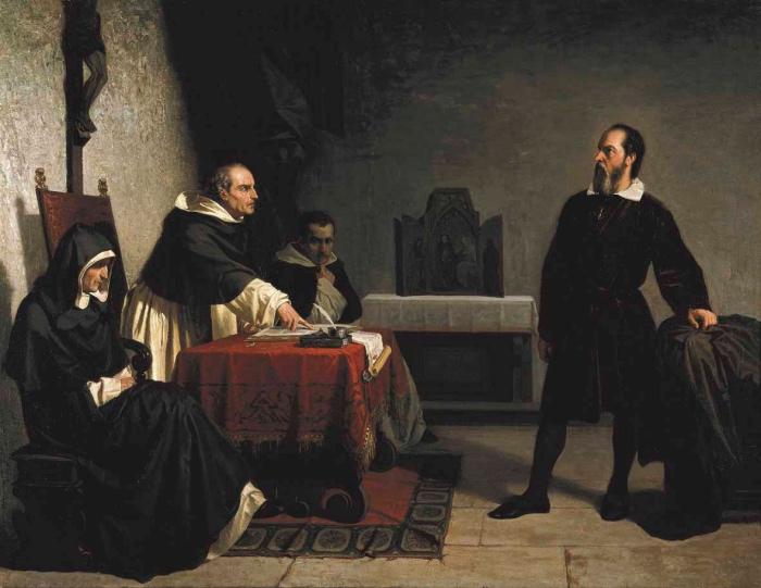 Cristiano Banti | Galileo davanti all'Inquisizione