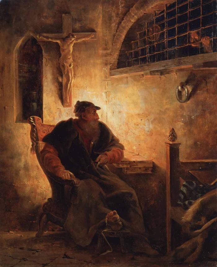 Cesare della Chiesa   Galileo in carcere