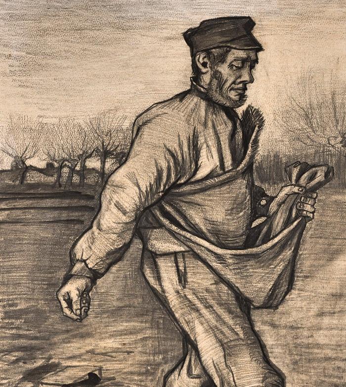 Vincent van Gogh, | Il seminatore