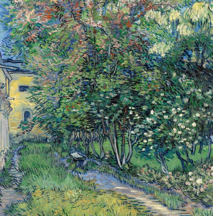 Vincent van Gogh | Il giardino dell'ospedale a Saint-Rémy