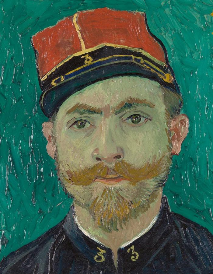Vincent van Gogh | Ritratto del sottotenente Milliet