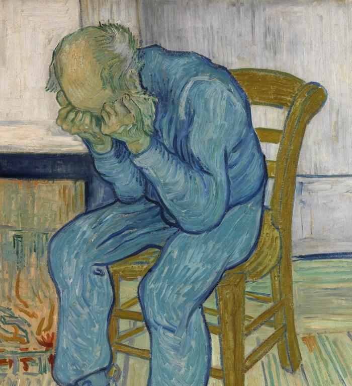 Vincent van Gogh | Vecchio che soffre