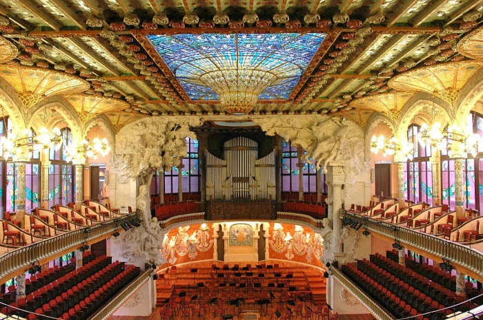 Palau Musica Catalana | Barcelona