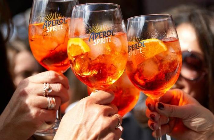 1 Glas Aperol Spritz Glas Luca Trazzi Designed