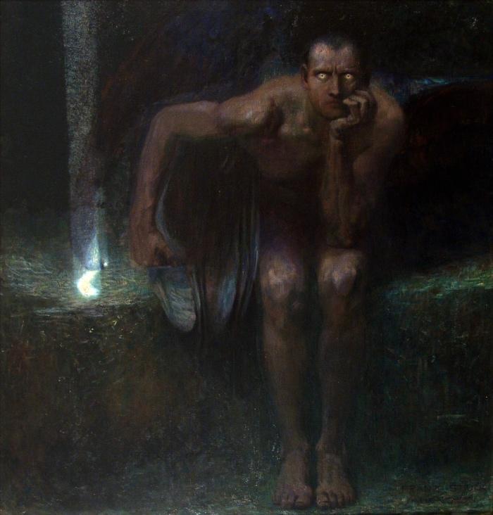 Lucifero | Franz von Stuck