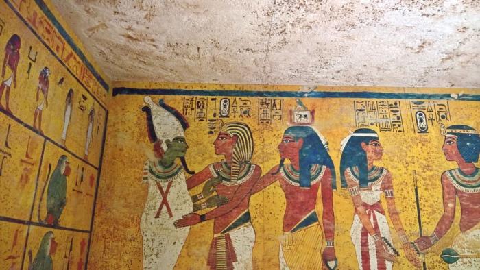 Tomba di Tutankamon | ricostruzione