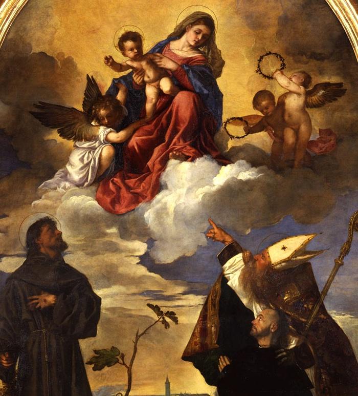 Pala Gozzi | Sacra conversazione di Tiziano