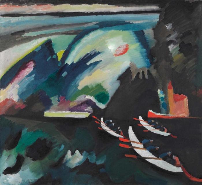 Vasilij Kandinskij | Lago