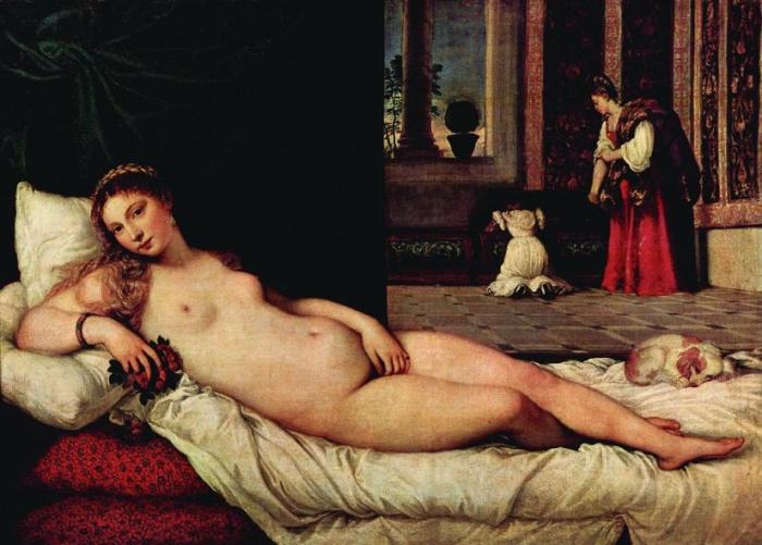 Venere Urbino | Tiziano Vecellio