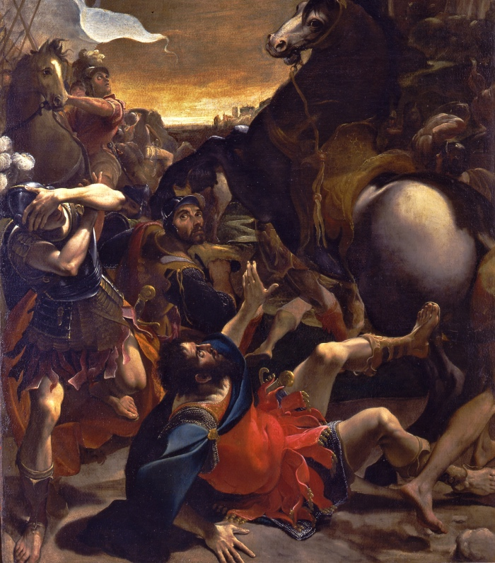 Ludovico Carracci | Conversione di Saulo