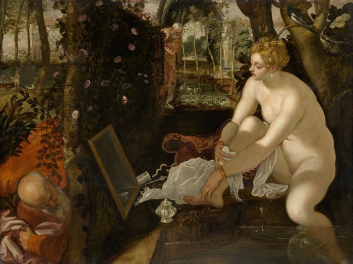 Jacopo Tintoretto | Susanna e i vecchioni