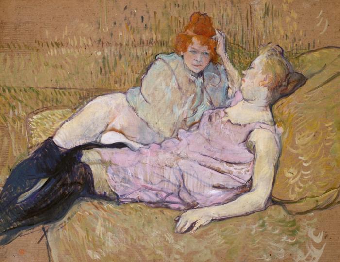 Toulouse-Lautrec | The Sofa