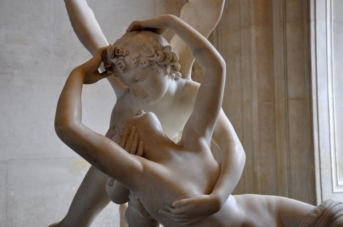 Antonio Canova| dettaglio Amore e Psiche
