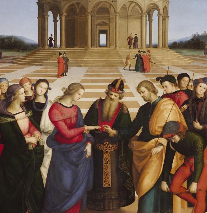 Sposalizio della Vergine | Raffaello