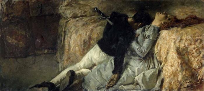 Gaetano Previati | Paolo e Francesca