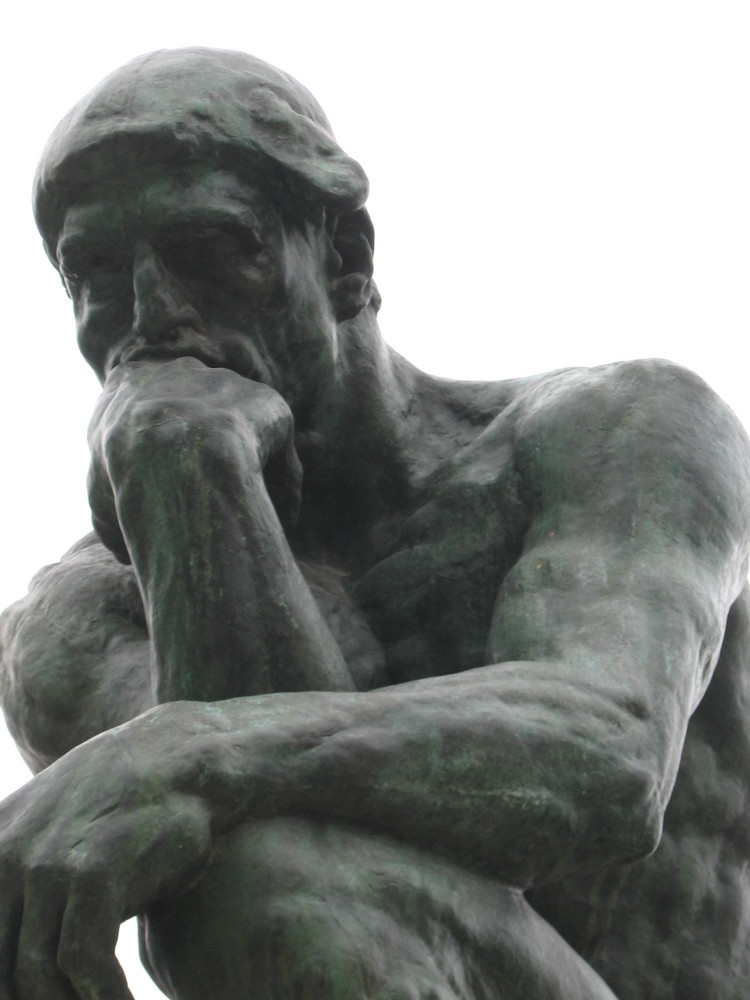 the thinker by rodin where it is housed and who is it