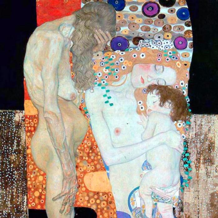 Klimt | Le età della vita