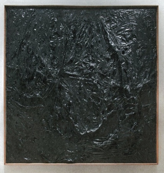 Alberto Burri | Plastica nera