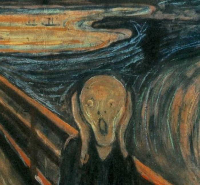 Urlo di Munch | dettaglio