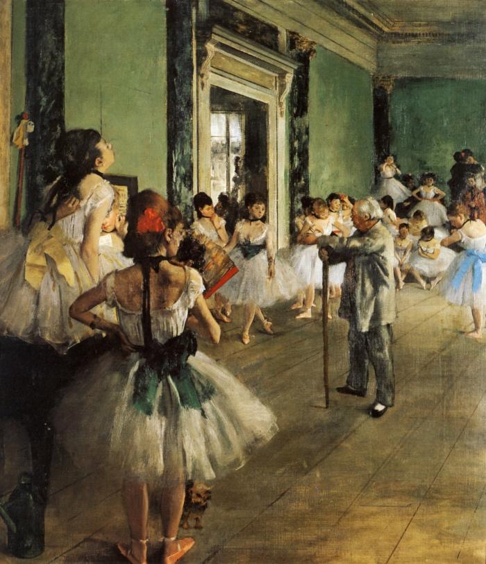 Ballerine Degas | Lezione di danza