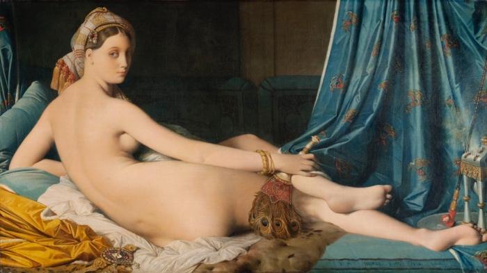 Jean-Auguste-Dominique Ingres | La grande odalisca