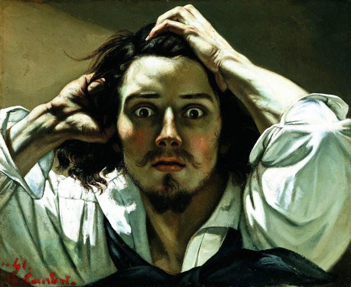 Gustave Courbet | autoritratto