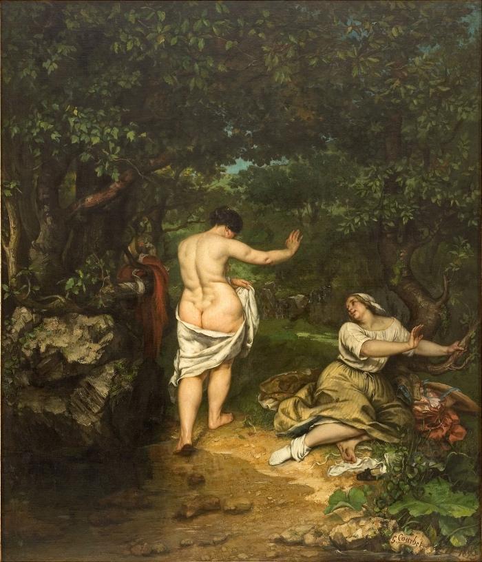 Gustave Courbet | Le bagnanti