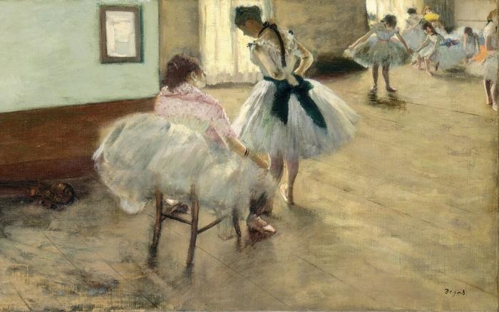 Edgar Degas | lezione di danza