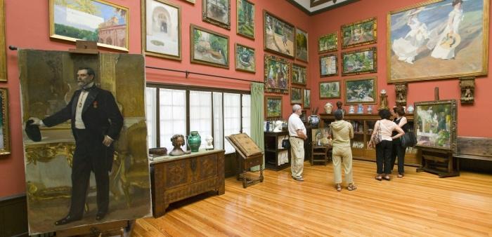 interno Museo Sorolla | Musei Madrid