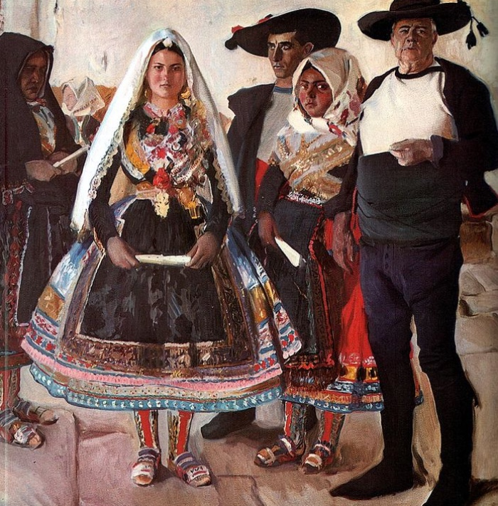 Sorolla | la sposa di Lagartera