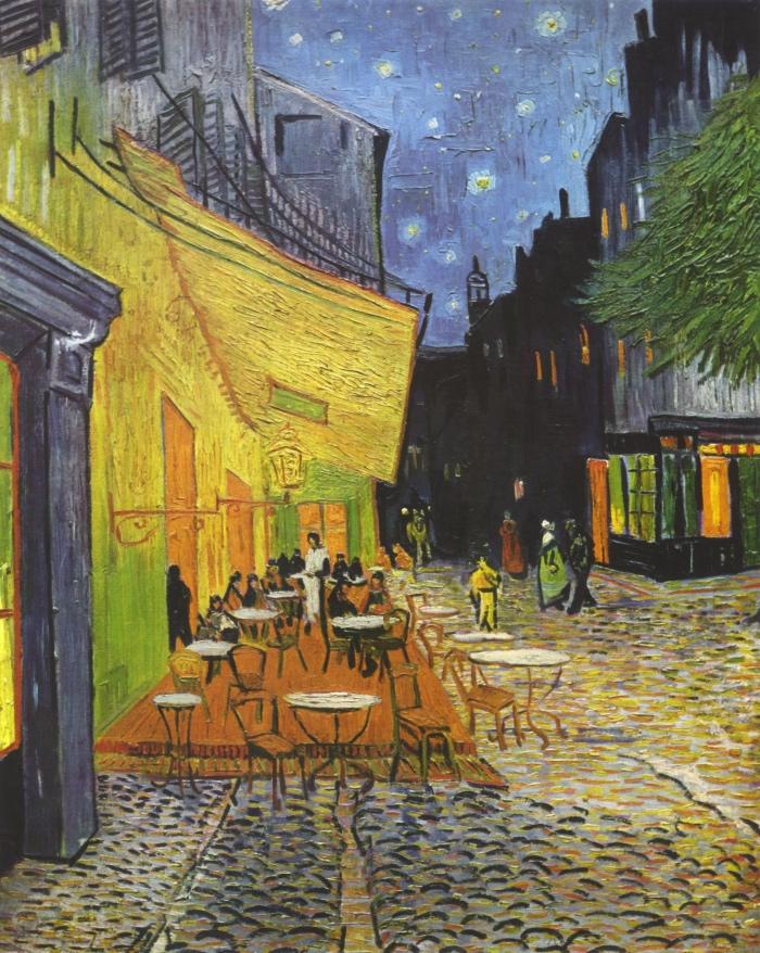 Terrazza del caffè la sera | opere Va Gogh