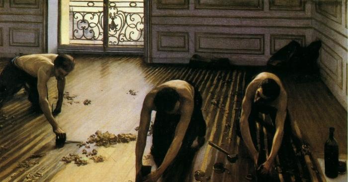 Gustave Caillebotte | i piallatori di parquet