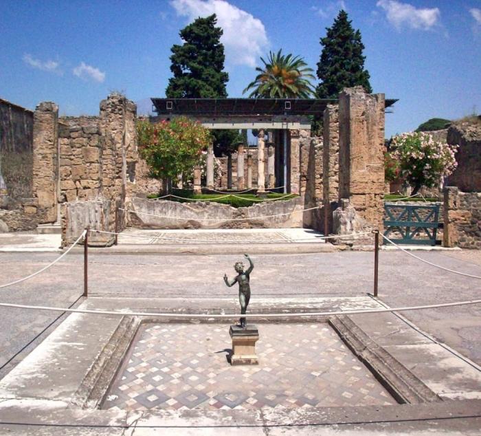 Visitare pompei le sue ville e case antiche cosa vedere for Piani di casa del vecchio mondo
