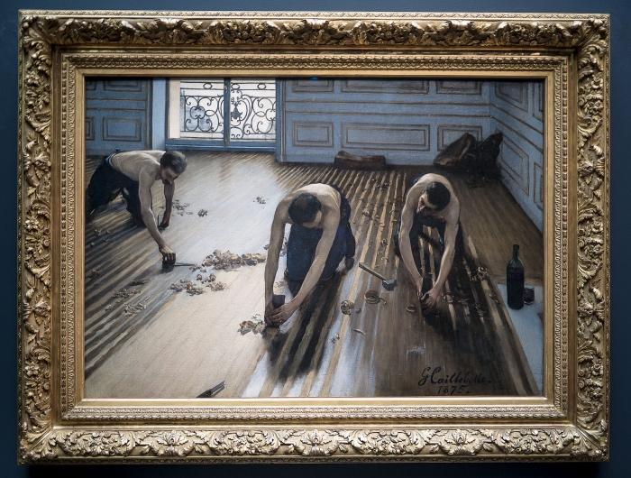 Gustave Caillebotte E I Piallatori Di Parquet